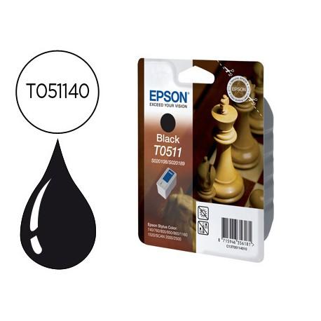 Cartucho Epson T051140 color Negro