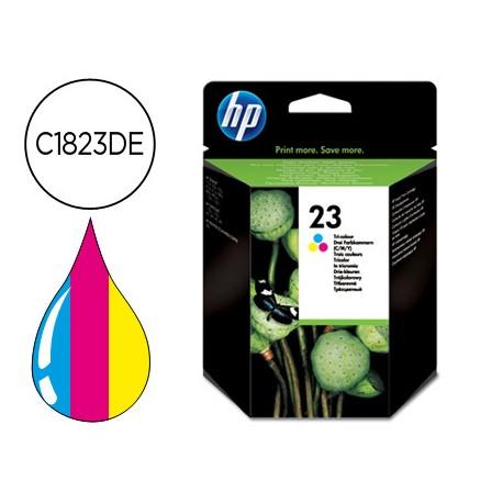 Cartucho marca HP 23 Tricolor C1823DE