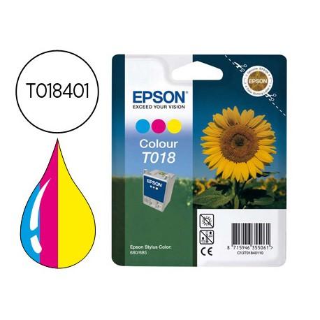 Cartucho Epson T018401 Tricolor