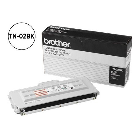 Tóner Brother TN-02BK Negro