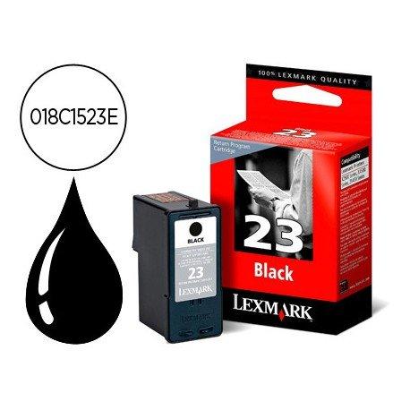 Cartucho Lexmark 018C1523E Nº 23 Negro