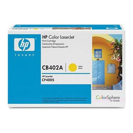 Toner HP 624A CB402A color Amarillo