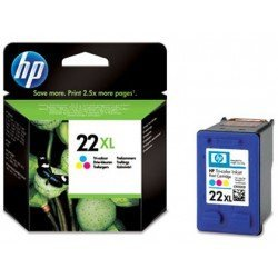 Cartucho marca HP 22XL Tricolor C9352CE