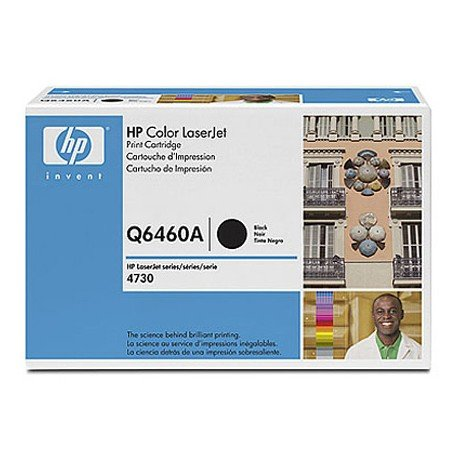 Toner HP 644A Q6460A color Negro