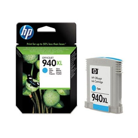 Cartucho HP 940XL color Cian C4907A
