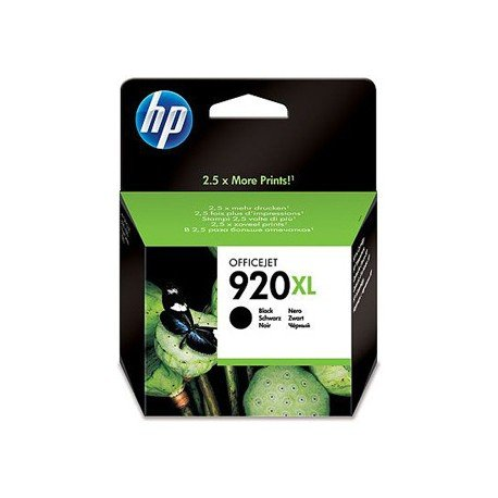 Cartucho HP 920XL color Negro CD975AE
