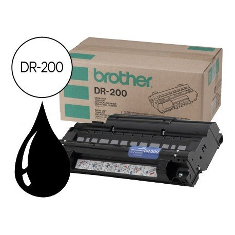 Tambor Brother DR-200 Negro
