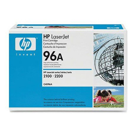 Toner HP 96A C4096A color Negro