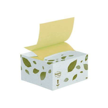 Post-it ® Bloc de notas adhesivas recicladas quita y pon