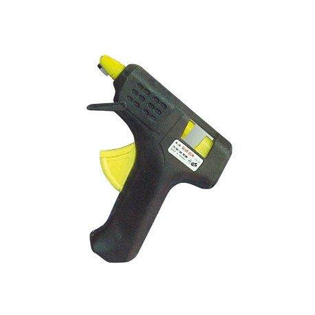 Pistola silicona termofusible mini Capel