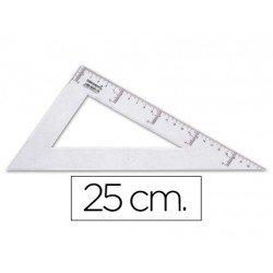 Cartabon de plastico cristal Liderpapel 25 cm