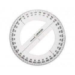 Circulo de plastico Liderpapel escala 0º a 360º