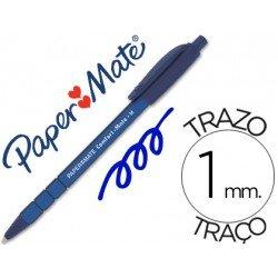 Boligrafo marca Papermate Comfort-Mate 1 mm