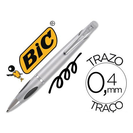 Boligrafo Bic Select 3 Grip Negro 0,4 mm