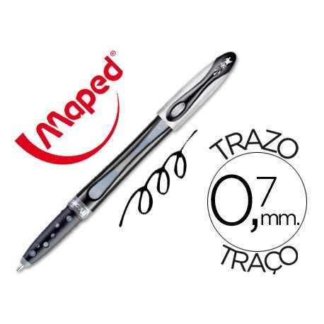 Boligrafo Maped Freewriter negro 0,7 mm