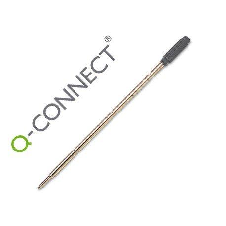Recambio para boligrafos rosca Q-Connect negro