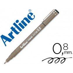 Rotulador Artline calibrado micrometrico negro de 0,8mm