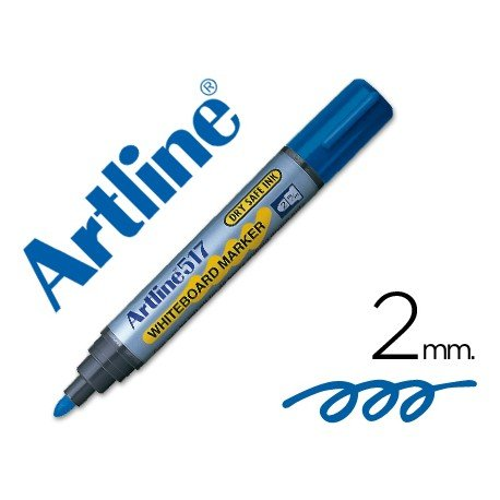 Rotulador Artline EK-517 color azul