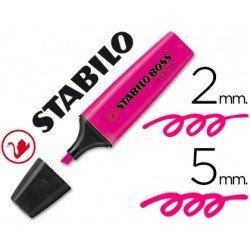 Rotulador Stabilo Boss 70 rosa fluorescente