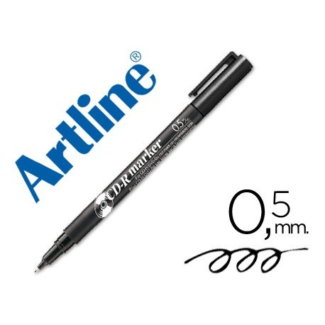 Rotulador marcador Artline para CD y DVD