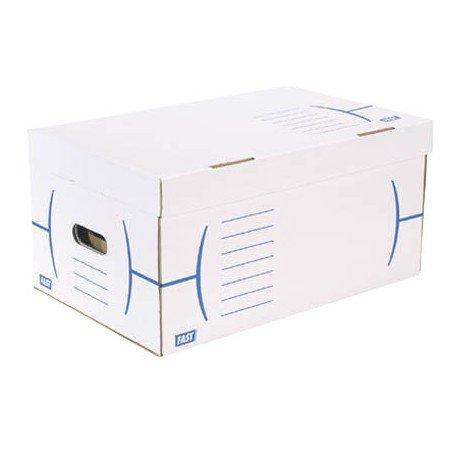 Caja de carton Fast Paperflow Definitivo blanco