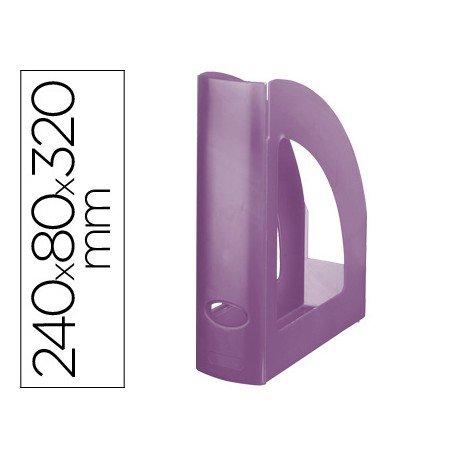 Revistero Liderpapel violeta