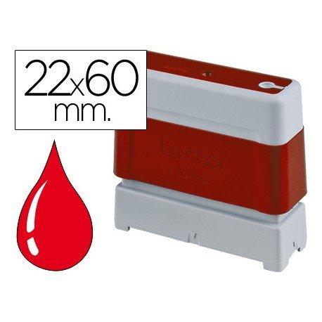 Sello Automatico marca Brother 22 x 60 rojo