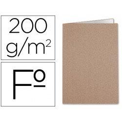 Subcarpeta kraft Liderpapel folio 200g/m2
