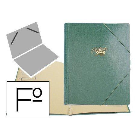 Carpeta clasificadora carton compacto Saro