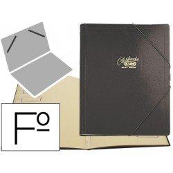 Carpeta clasificadora de carton compacto Saro 275 x 360 mm Negro