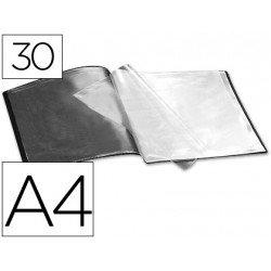 Carpeta escaparate con 30 fundas Beautone negro
