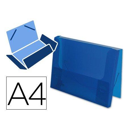 Carpeta de lomo rigido Beautone Din A4 azul
