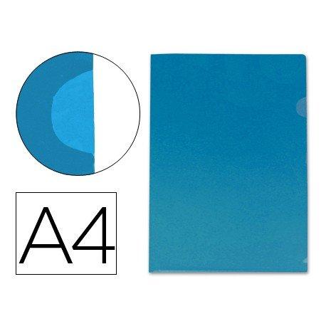 Funda dossier uñero Din A4 color azul