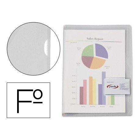 Funda dossier marca Pardo unero plastico Folio