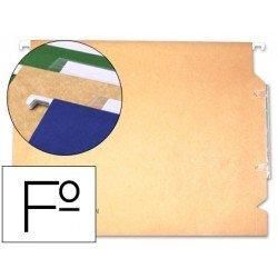 Carpeta colgante marca Gio con visor lateral folio
