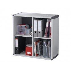Estantería biblioteca Paperflow de 4 casillas
