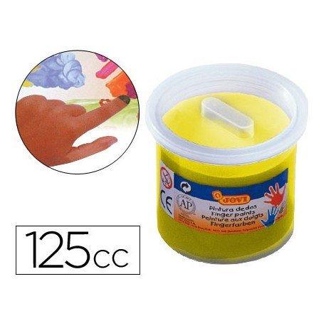 Pintura de dedos Jovi 125 cc color amarillo