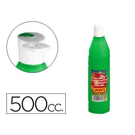 Tempera liquida Jovi color verde 500 cc