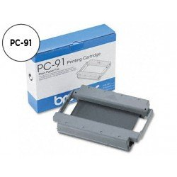 Cartucho y bobina Brother PC-91