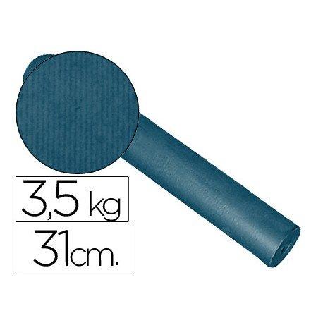 Bobina papel tipo kraft Impresma 31 cm 3,5 kg cobalto