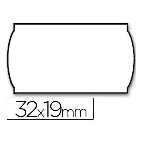 Rollo Etiquetas adhesivas marca Meto lisa 32 x 19