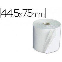 Rollos Electra para sumadoras. Medidas 44,5x75 mm. Mandril 12 mm.