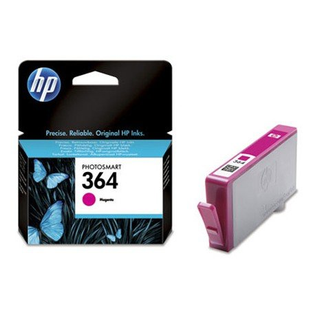 Cartucho HP 364 color Magenta CB319EE