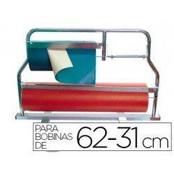 Portarrollos de mostrador acero pintado 62-31 cm