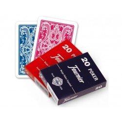Baraja Poker Español 20/54 marca Fournier
