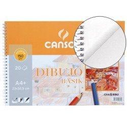 Bloc dibujo Canson din a4 gramaje 150 g/m2