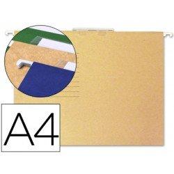 Carpetas colgante marca Gio A4 visor superior