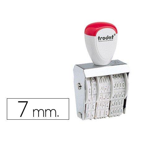 Fechador manual marca Trodat 7 mm