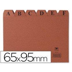 Indice fichero marca Liderpapel N1 carton