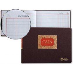 Libro Miquelrius folio formato apaisado. Libro de caja entrada y salida 100 hojas. Dietario
